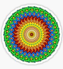 Colorful Mandala 4 Sticker