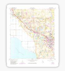 USGS TOPO Map Florida FL Apopka 344961 1960 24000 Sticker
