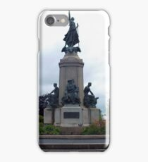 Monument to the fallen soldiers iPhone Case/Skin