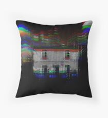 The Happy House Throw Pillow