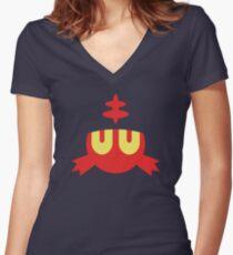 Litten Women's Fitted V-Neck T-Shirt