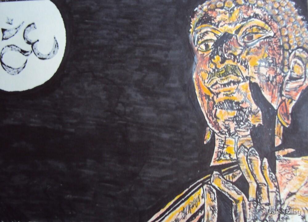 Om  Buddha by Dale Tolley