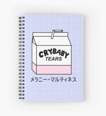 CRYBABY TEARS Spiral Notebook