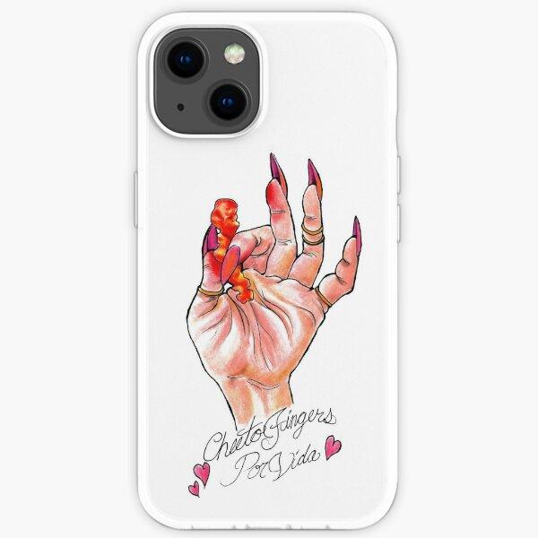 Hot Cheeto Fingers Por Vida  iPhone Soft Case