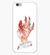 Hot Cheeto Fingers Por Vida  iPhone Case