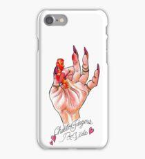 Hot Cheeto Fingers Por Vida  iPhone Case/Skin