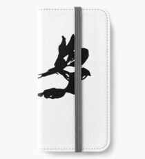 Black orchid iPhone Wallet/Case/Skin
