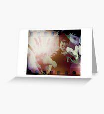 Bruce Lee Greeting Card