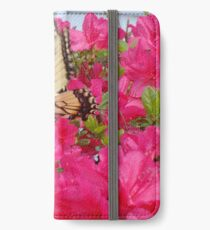 Butterfly in the azaleas   ^ iPhone Wallet/Case/Skin