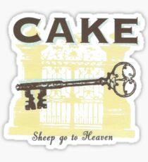 CaKe - ShEeP gO tO hEaVeN Sticker