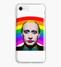 Gay Clown Putin Funny Gag Meme iPhone Case/Skin