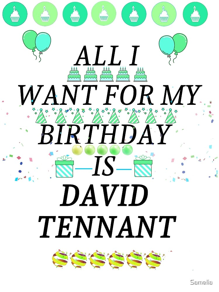Birthday Tennant by Samelia