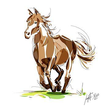 Horse by santanafirpo