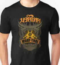 Muay Thai Skull Champion Badge - Thailand Martial Art T-Shirt
