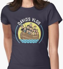 David Dobrik David's Vlog Boat Womens Fitted T-Shirt