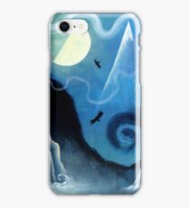 Ravens by the Ocean iPhone Case/Skin
