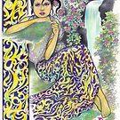 tropical fantasia - composed nymph by John R.P. Nyaid