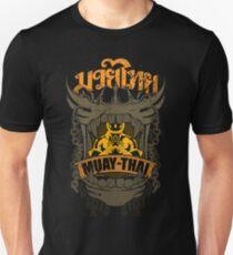 Muay Thai Skull Champion Badge - Thailand Martial Art - Distorted T-Shirt