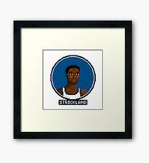Rod Framed Print