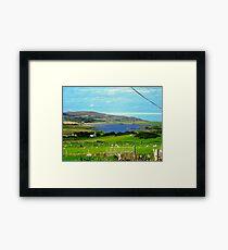 Tranquil Scene, Donegal, Ireland Framed Print
