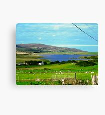 Tranquil Scene, Donegal, Ireland Canvas Print