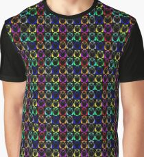 Geometric colorful owls Graphic T-Shirt