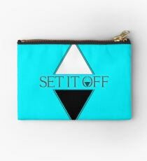 Set it off logog Studio Pouch