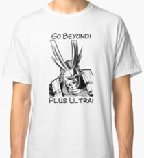 All Might - Plus Ultra Classic T-Shirt