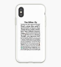 best service 84f36 5fc74 The Office Us iPhone cases & covers for XS/XS Max, XR, X, 8/8 Plus ...