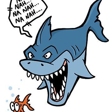 Na Nah Shark by calvininnes