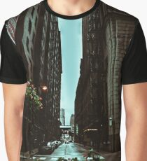 Urban Canyon - Moody Views of the City Graphic T-Shirt