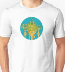 Chameleon Pod, from the AlphaPod collection Unisex T-Shirt