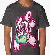 Monkey Trip Sticker Long T-Shirt