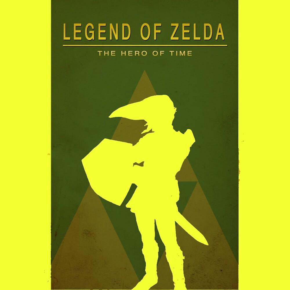 Zelda by GamersTshirts