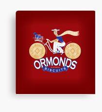 Ormonds Biscuits Canvas Print