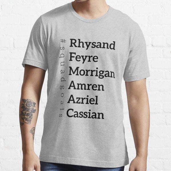 ACOMAF Squad goals list Essential T-Shirt