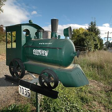 Steam Engine Letterbox, Ilford, NSW, Australia by muz2142