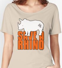 Save A Rhino Women's Relaxed Fit T-Shirt