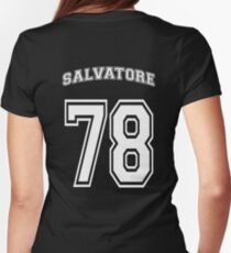 D. Salvatore 78 - 2 Womens Fitted T-Shirt