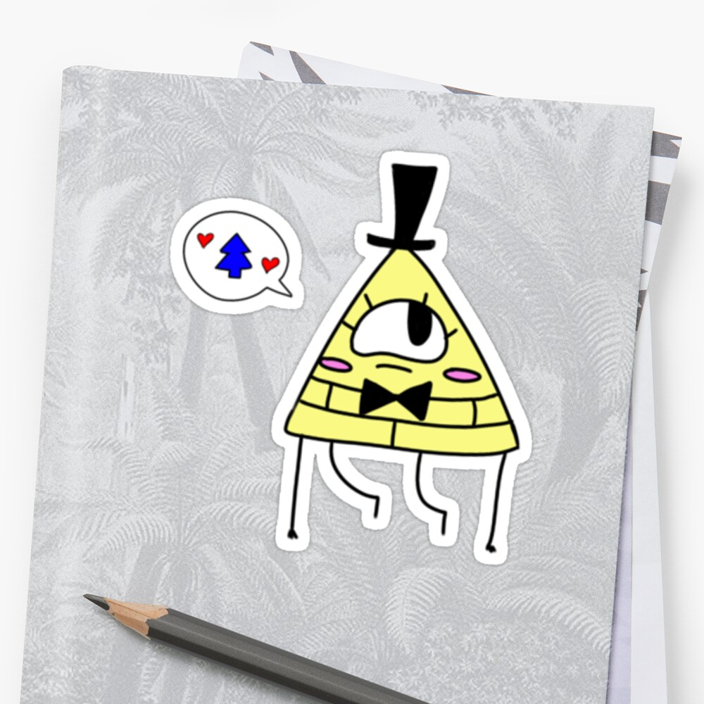 Bill Cipher - Oh Pine Tree~ by Maxfield Alexander Esquivel