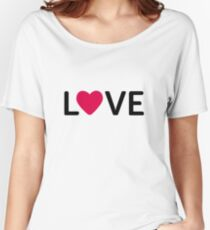 heart love valentine Women's Relaxed Fit T-Shirt