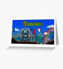 Terraria Greeting Card