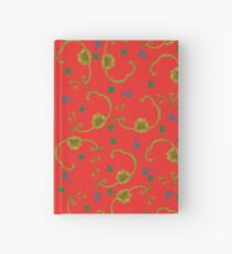 Paisleys and Flowers Hardcover Journal