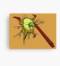 I kill crabs Canvas Print