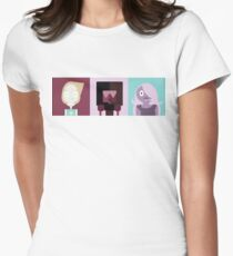 Crystal Gems (-Steven) Womens Fitted T-Shirt