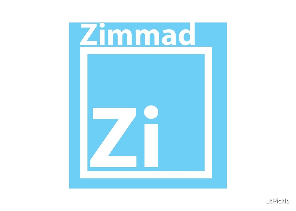 Zimmad for shirt. by LtPickle