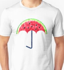 Perfect Watermelon Umbrella Unisex T-Shirt