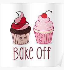 Bake Off Cupcake Battle Poster