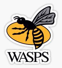 Wasps Rugby Sticker