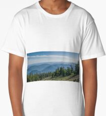 Cascade mountains from Pacific Crest Trail Long T-Shirt